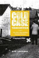 Cold Case Vancouver Pdf/ePub eBook