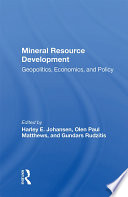 Mineral Resource Development