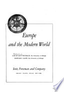 Europe and the Modern World: The rise of modern Europe