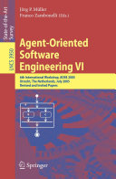 Agent Oriented Software Engineering VI