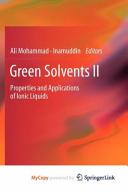 Green Solvents II