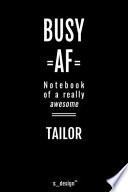 Notebook for Tailors / Tailor