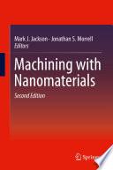 Machining With Nanomaterials Book PDF