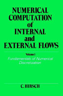 Numerical Computation Of Internal And External Flows Volume 1 Book PDF