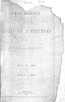 Proceedings of the Board of Supervisors of Douglas County