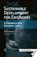 Sustainable Development for Engineers Book