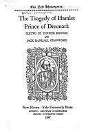 The Yale Shakespeare Hamlet Prince Of Denmark