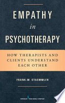 Empathy in Psychotherapy Book