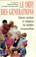 Le défi des générations
