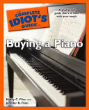 The Complete Idiot's Guide to Buying a Piano Pdf/ePub eBook