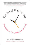 The Art of Slow Writing Pdf/ePub eBook