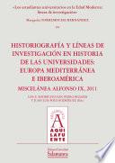 Los estudiantes universitarios en la Edad Moderna: líneas de investigación