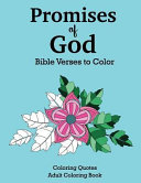 Promises of God Bible Verses to Color Book