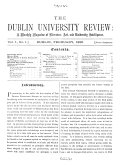 The Dublin University Review