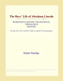 The Boys  Life of Abraham Lincoln  Webster s Chinese Traditional Thesaurus Edition