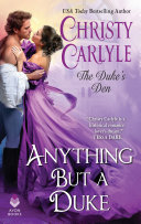 Anything But a Duke Pdf/ePub eBook