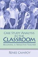 Case Study Analysis in the Classroom Pdf/ePub eBook