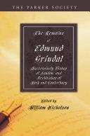 The Remains of Edmund Grindal, D.D. Pdf/ePub eBook
