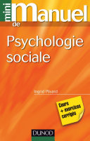 Pdf Mini manuel de psychologie sociale Telecharger