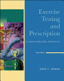 Exercise Testing   Prescription