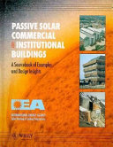 Passive Solar Commercial and Institutional Buildings Book
