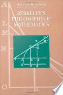 Berkeley s Philosophy of Mathematics Book