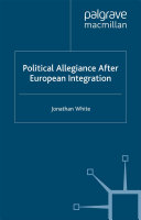 Political Allegiance After European Integration - Seite ii