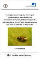 Investigations on Biological and Ecological Characteristics of the Predatory Bug Orius Similis ZHENG  Het   Anthocoridae  and Its Efficiency Against Different Aphid Species as Well as Side Effect of Pesticides on the Predator