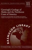 Grewingk S Geology Of Alaska And The Northwest Coast Of America