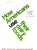 How Americans Use Their Dairy Foods Book PDF