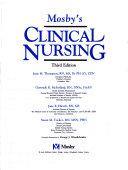 Mosby s Clinical Nursing