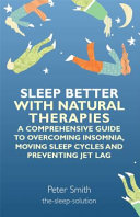 Sleep Better with Natural Therapies Book