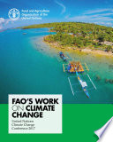 FAO'S WORK ON CLIMATE CHANGE