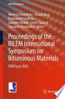 Proceedings of the RILEM International Symposium on Bituminous Materials