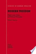 Modern Freedom Book