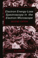 Pdf Electron Energy-Loss Spectroscopy in the Electron Microscope Telecharger