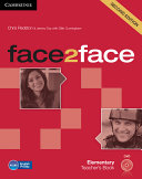 Face2face Elementary Teacher s Book with DVD