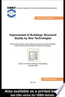 Improvement of Buildings  Structural Quality by New Technologies
