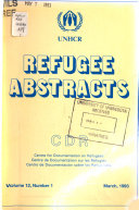 Refugee Abstracts