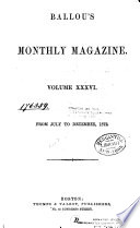 Ballou's Monthly Magazine Pdf/ePub eBook