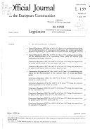 Official Journal of the European Communities Book