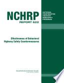 Effectiveness of Behavioral Highway Safety Countermeasures