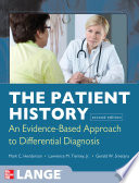 The Patient History Evidence Based Approach Book PDF