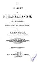 History of Mohammedanism  and Its Sects Book PDF