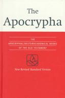 NRSV Apocrypha Text Edition NR520 A