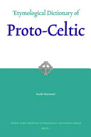 Etymological Dictionary of Proto-Celtic