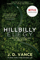Hillbilly Elegy  movie Tie In
