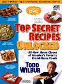 Top Secret Recipes Unlocked Book