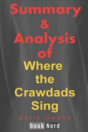 Summary and Analysis of Where the Crawdads Sing Pdf/ePub eBook