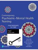 Cover of Contemporary Psychiatric-mental Health Nursing